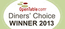 Open Table Choice Award