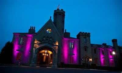 View Photo - Evening castle lighting