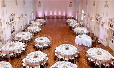 View Photo - Table settings inside the grand ballroom