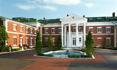 View Photo - Outdoor view of the elegant Bourne Mansion
