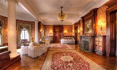 View Photo - Georgian style wedding cocktail room