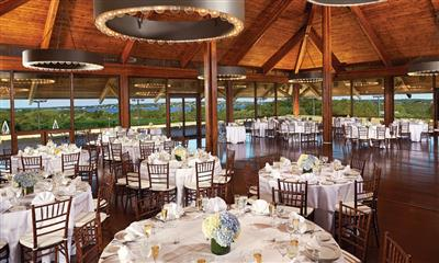 View Photo - Wedding reception room with panoramic view of waterside