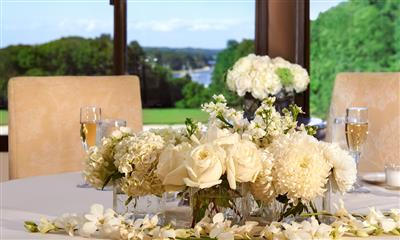 View Photo - Flower centerpiece