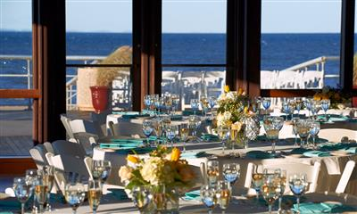 View Photo #14 - Table settings with beach view