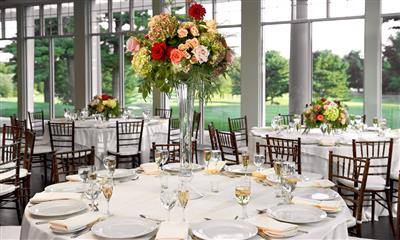 View Photo - Colorful wedding centerpiece