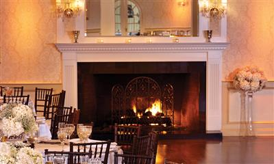 View Photo #11 - Fireplace in the ballroom