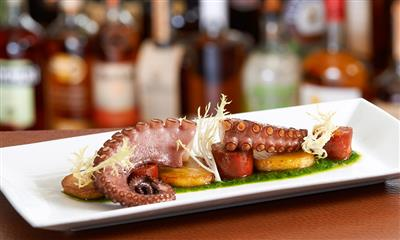View Photo #12 - Octopus appetizer