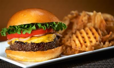 View Photo - Classic burger and fries