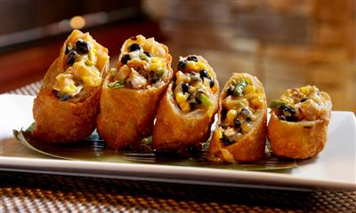 View Photo - Southwest chicken spring rolls