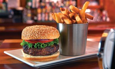 View Photo #5 - Hamburger and french fries