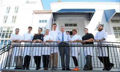 View Photo - Chef Guy Reuge and his lovely staff