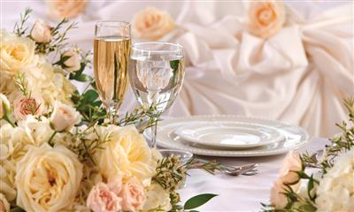 View Photo - Floral table decorations