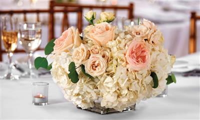 View Photo - Gorgeous flower centerpiece