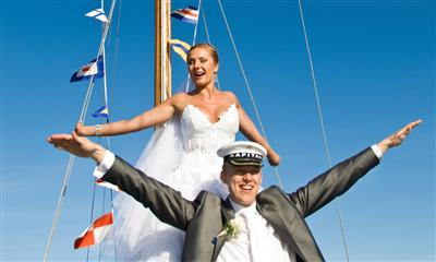 View Photo - Bride and groom