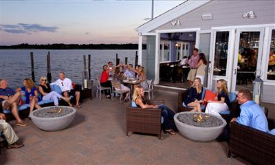View Photo - Guests dining outdoors