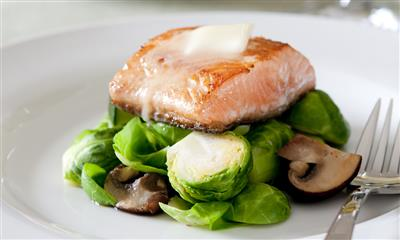 View Photo - Salmon entree