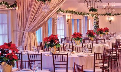 View Photo - Ballroom in the Holiday Season