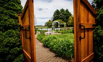 View Photo #3 - Gate to garden