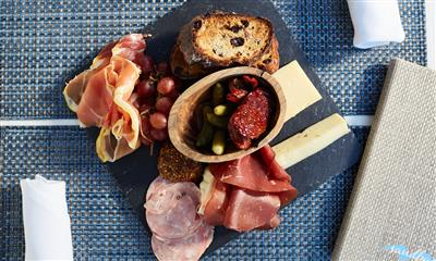 View Photo - Charcuterie board and cheese combination