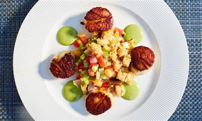 View Photo #10 - Seared scallops