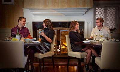 View Photo - Dining By The Fireplace