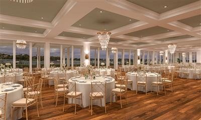 View Photo #4 - Interior Ballroom Rendering