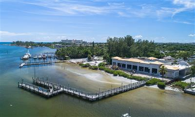 View Photo #11 - Waterview of Building Construction and Dock from above as of September 20