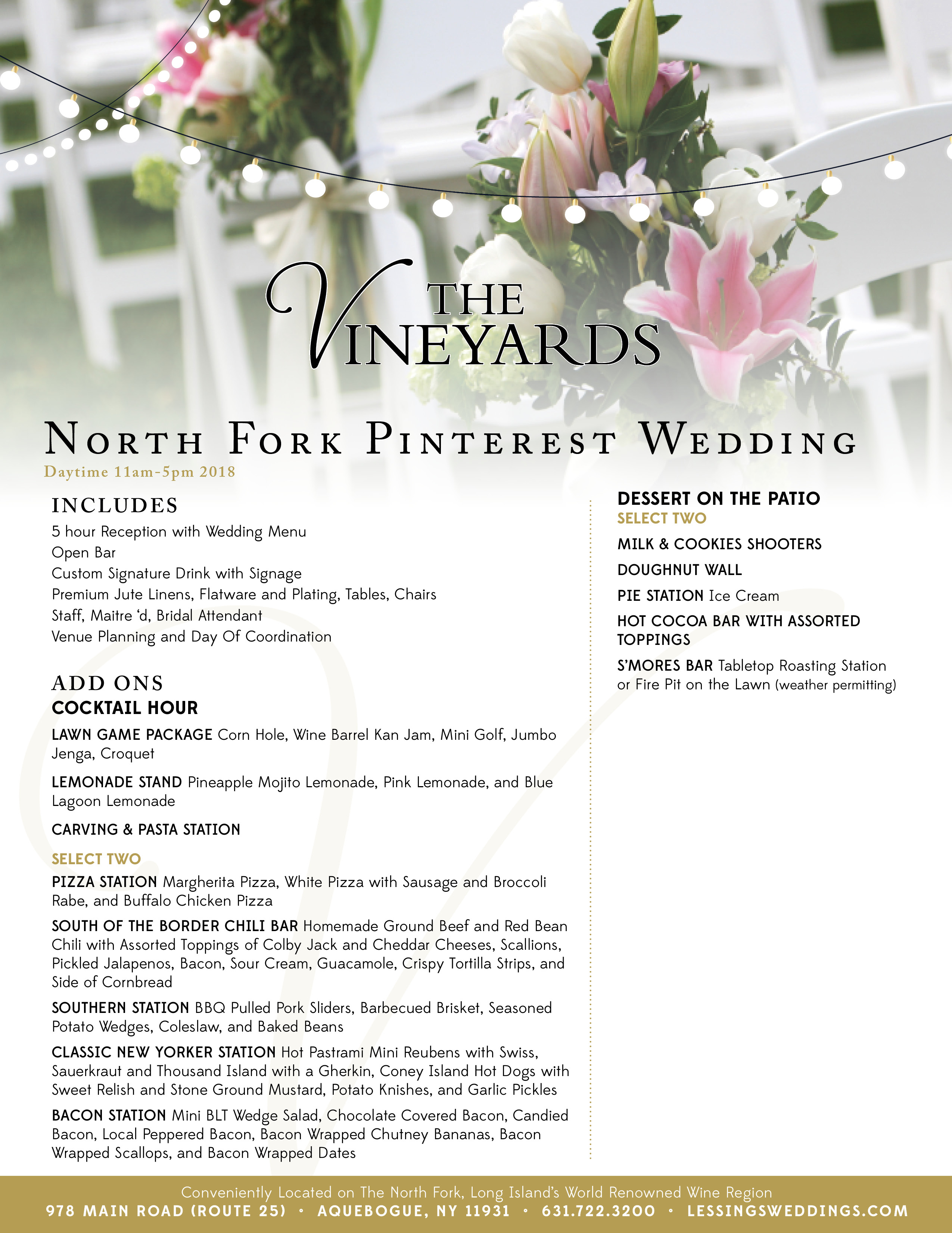 North Fork Pinterest Wedding