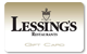 Purchase a Lessing's gift card, which can be used at any of our restaurants