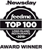 Newsday Feed Me Top 100, 2019 Award Winner (Opens in a New Window)