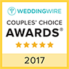Wedding Wire Award for 2017 (Opens in a New Window)