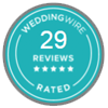 Wedding Wire Rated - 29 Reviews (Opens in a New Window)