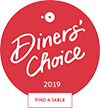 Open Table Diners Choice Award for 2019 (Opens in a New Window)
