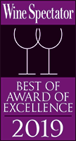 Wine Spectator Award for 2019 (Opens in a New Window)