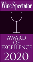 Wine Spectator Award for 2020 (Opens in a New Window)