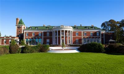 View Photo #22 - Stunning lawn view of Bourne Mansion