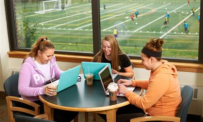 View Photo #12 - College students enjoying coffee