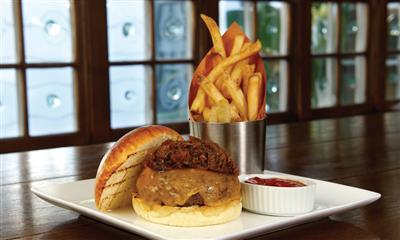 View Photo #11 - Hamburger and french fries