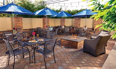 View Photo #27 - Patio tables and firepit