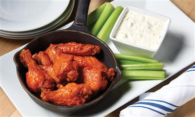 View Photo #8 - Buffalo wings and celery with dip