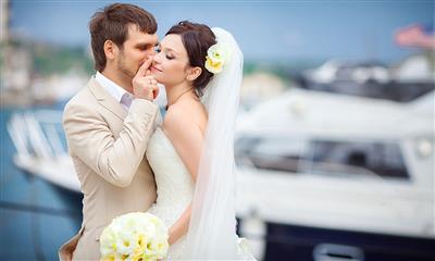 View Photo #19 - Groom kissing bride