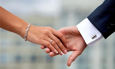 View Photo #24 - Bride and groom holding hands