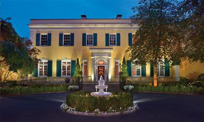 View Photo #1 - Stunning evening view of Mansion at Oyster Bay