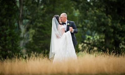 View Photo #13 - Bride and Groom in the Reeds