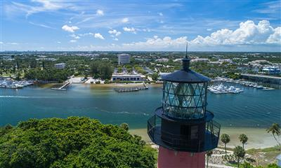 View Photo #10 - Aerial view of construction from the lighthouse as of September 20