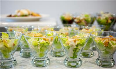 View Photo #33 - Salad In Shot Glasses