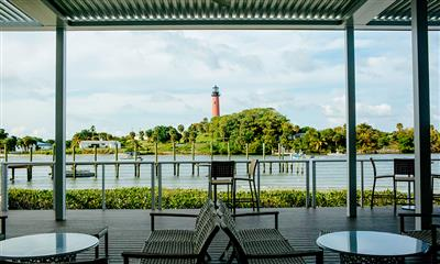 View Photo #8 - View of the Jupiter Inlet Lighthouse From Pelican Club Patio