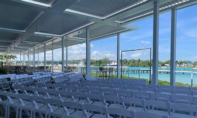 View Photo #16 - Chairs Set Up For Ceremony Overlooking the Inlet