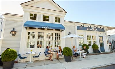 View Photo #1 - Al fresco dining at Sandbar