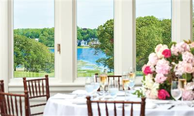 View Photo #6 - View of Gardiner's Bay from the Ballroom